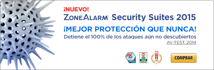 ZoneAlarm Security Suites