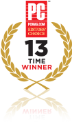 PC Magazine Editors' Choice Award