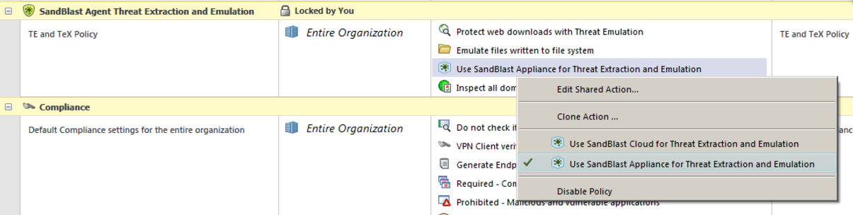 SandBlast Agent for Browsers - working with Security Gateway