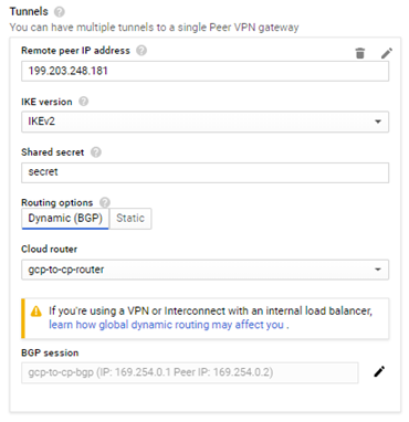How to Set Up VPN Between Check Point Security Gateway and Google