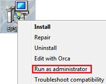 run msi as administrator