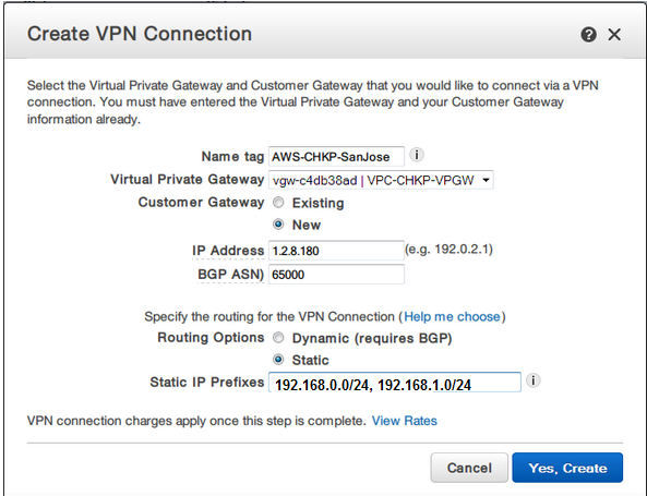 How to configure IPsec VPN tunnel between Check Point