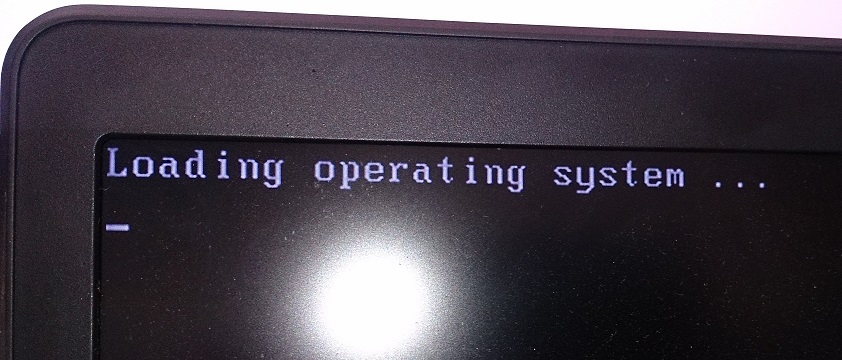 Loading operating system