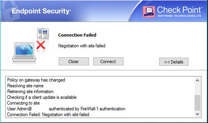 Checkpoint vpn 1 edge x Manual