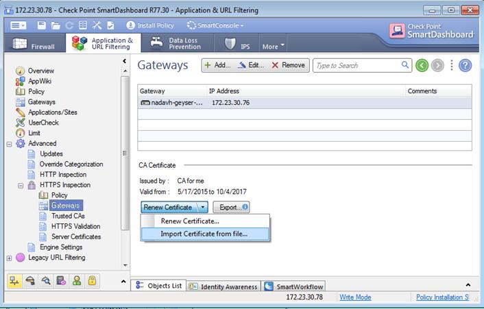 Best Practices - HTTPS Inspection