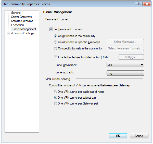 How to set up VPN between on-premises Security Gateway and
