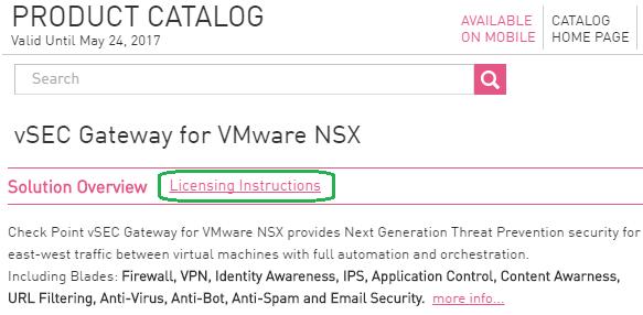 CloudGuard (vSEC) Central License Management Utility