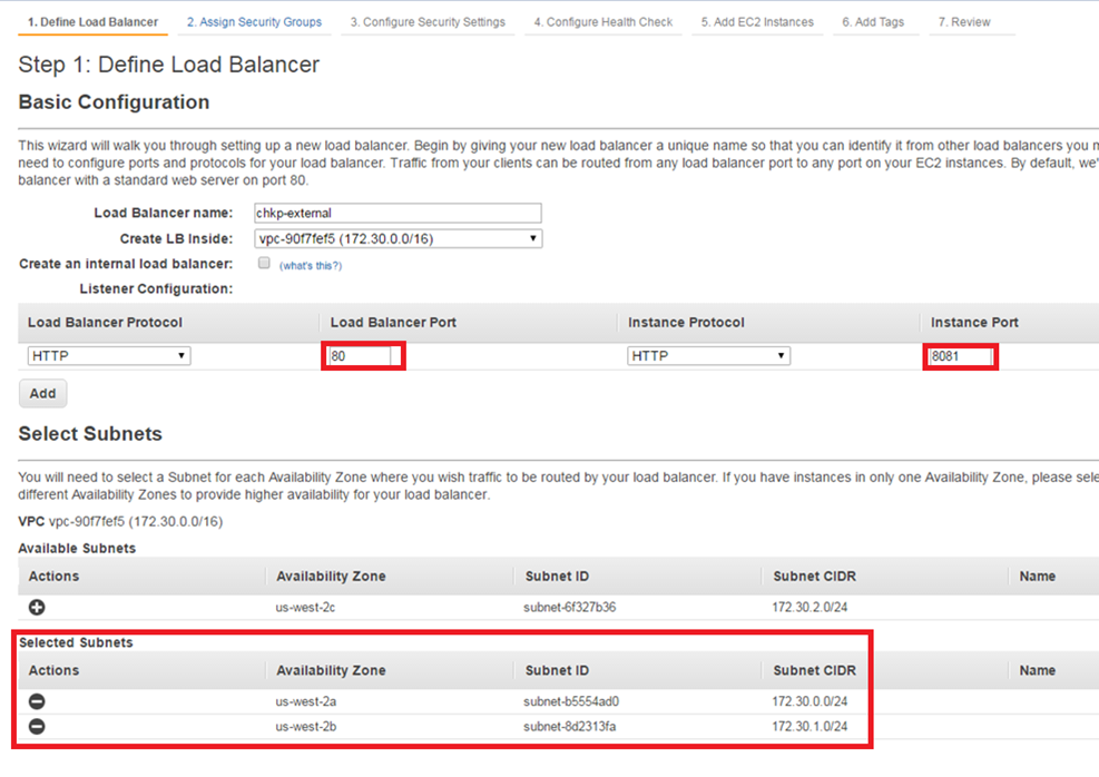 CloudGuard Auto Scaling for AWS