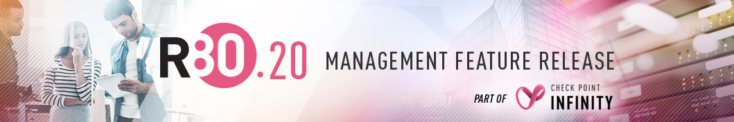 R80 20 Management Feature Release