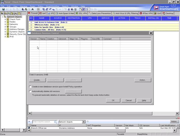 smartdashboard r71