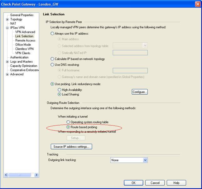 Domain based vpn route based vpn