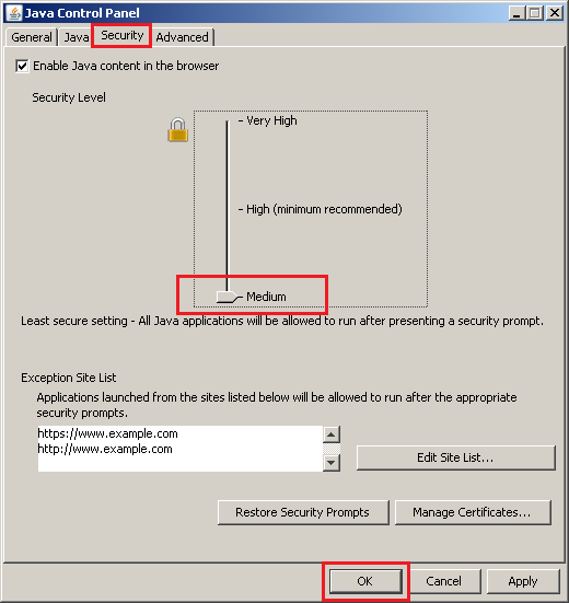 how to find java control panel