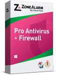 ZoneAlarm Pro Antivirus: Product Box