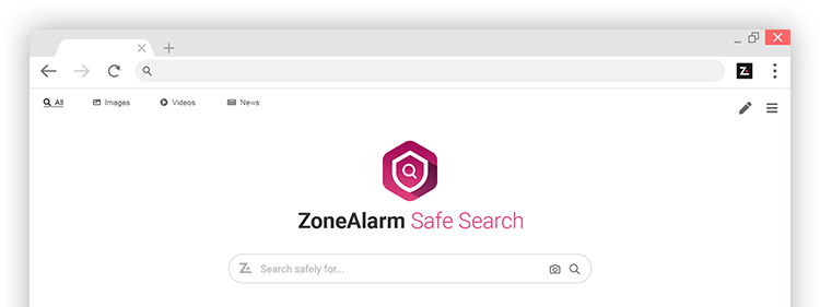 ZoneAlarm Safe Search