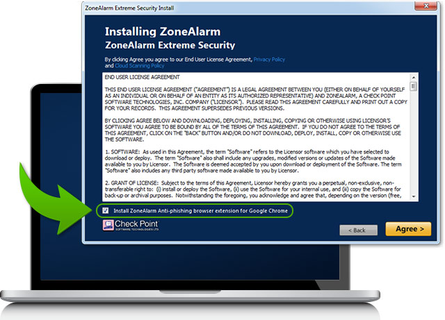 ZoneAlarm Anti-Phishing Chrome Extension - Secure & Fast