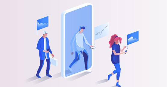 business data employees smartphones