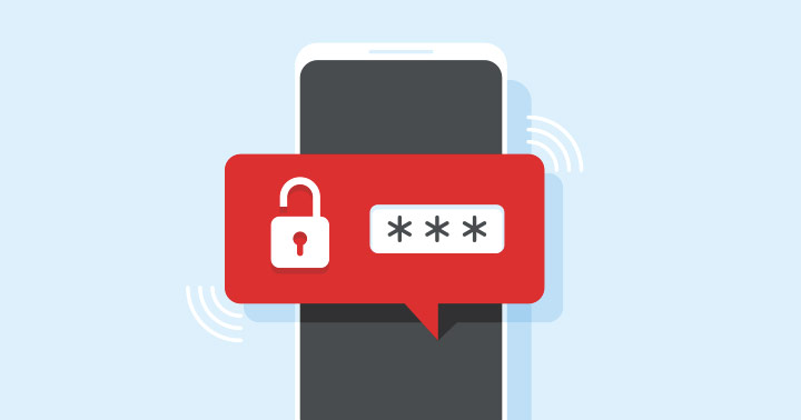 business data employees smartphones password